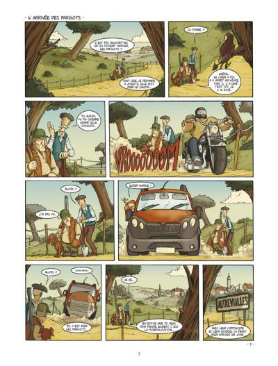 Page 1 un coin de ciel bleu tome 1 - l'odeur du foin...