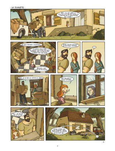 Page 2 un coin de ciel bleu tome 1 - l'odeur du foin...