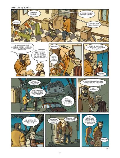Page 3 un coin de ciel bleu tome 1 - l'odeur du foin...