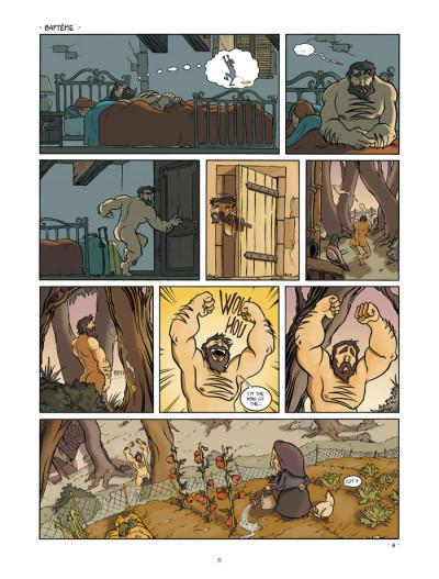 Page 4 un coin de ciel bleu tome 1 - l'odeur du foin...