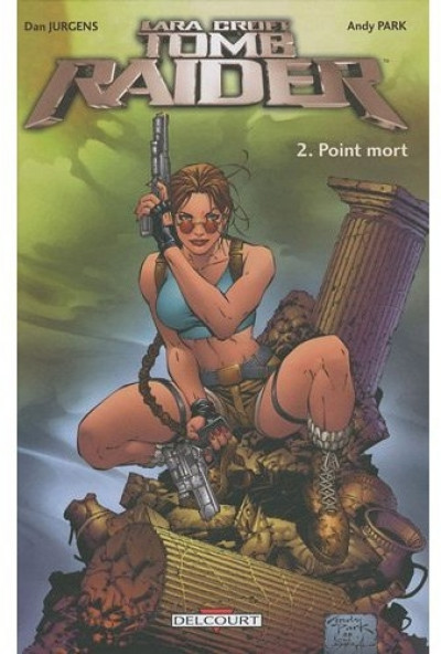 Couverture tomb raider tome 2 - point mort