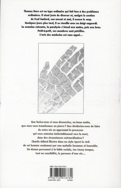 Dos corps de pierre