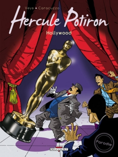 Couverture hercule potiron tome 2 - hollywood
