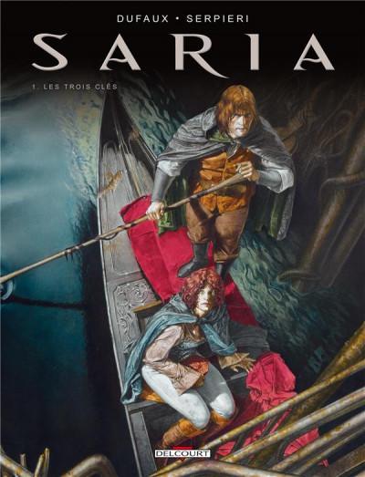 Couverture Saria tome 1 - les trois clefs