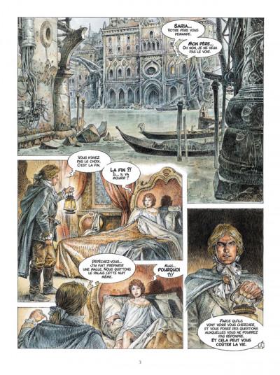 Page 1 Saria tome 1 - les trois clefs