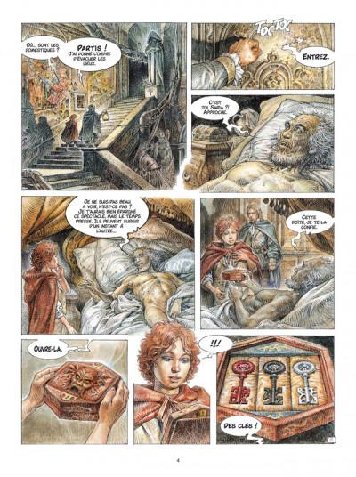 Page 2 Saria tome 1 - les trois clefs