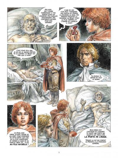 Page 3 Saria tome 1 - les trois clefs