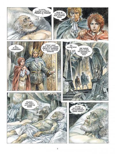 Page 4 Saria tome 1 - les trois clefs