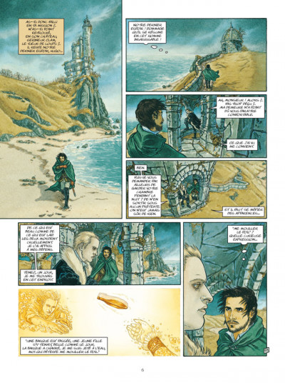 Page 4 le bois des vierges tome 2 - loup