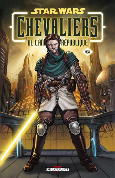 Couverture star wars - chevaliers de l'ancienne république tome 5 - sans pitié !