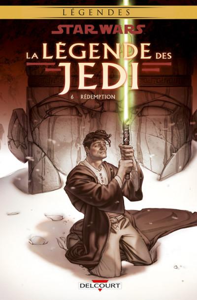 Couverture Star wars - la légende des jedi tome 6