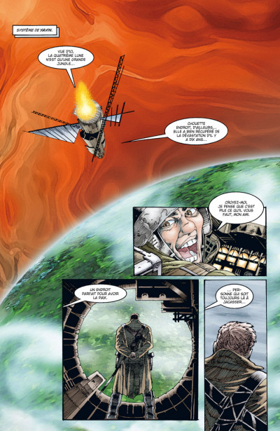 Page 1 Star wars - la légende des jedi tome 6