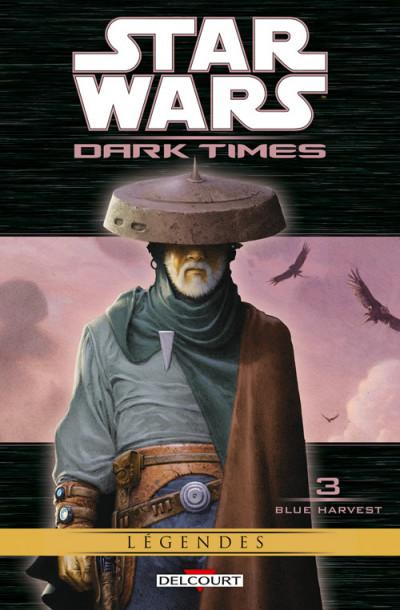 Couverture Star Wars - dark times T.3 - blue harvest