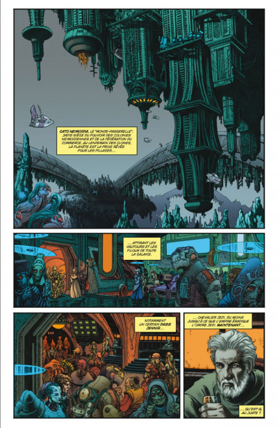 Page 1 Star Wars - dark times T.3 - blue harvest