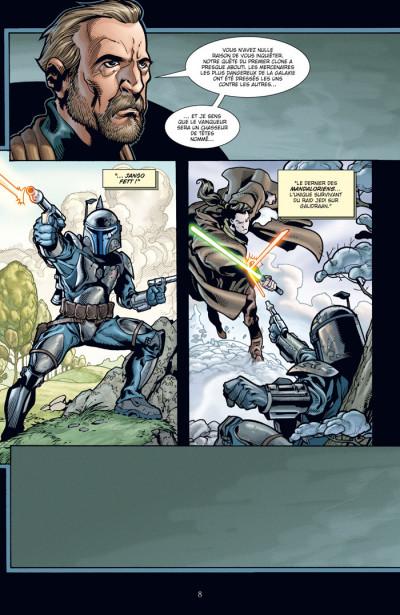 Page 4 star wars - le côté obscur tome 10 - la ballade de jango fett