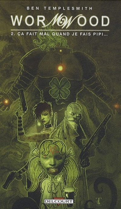 Couverture Wormwood tome 2