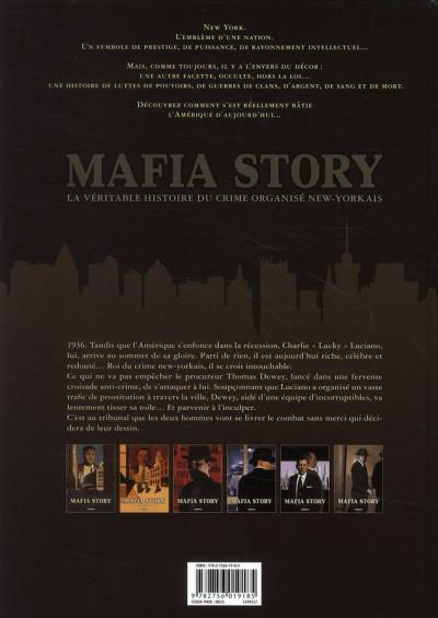 Dos mafia story tome 6 - la chute de lucky luciano