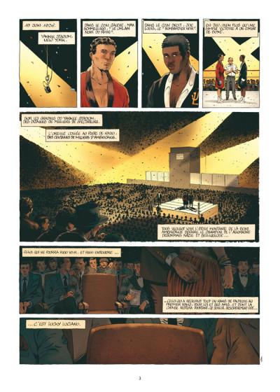 Page 1 mafia story tome 6 - la chute de lucky luciano