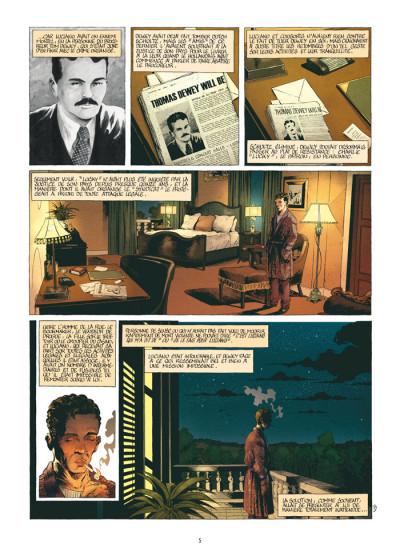 Page 3 mafia story tome 6 - la chute de lucky luciano