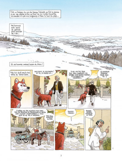 Page 1 l'appel de la forêt, de Jack London