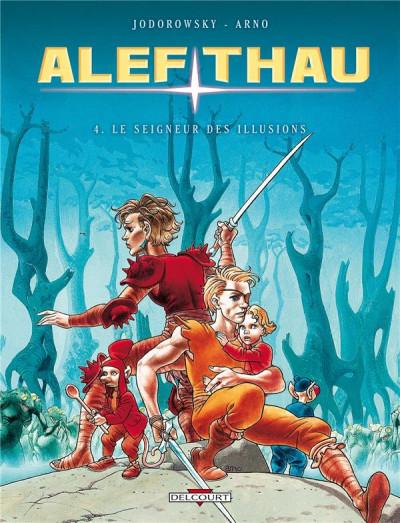 Couverture alef-thau tome 4 - le seigneur des illusions
