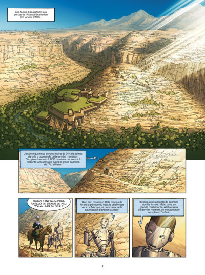 Page 1 Météors tome 3