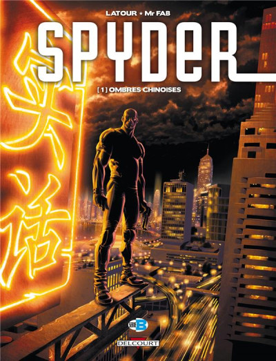 Couverture spyder tome 1 - ombres chinoises