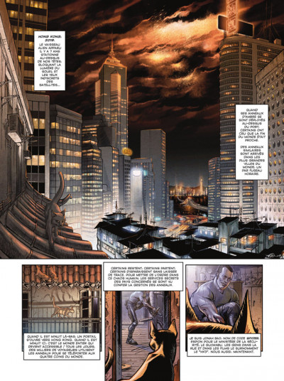 Page 1 spyder tome 1 - ombres chinoises