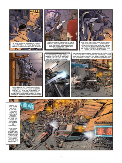 Page 2 spyder tome 1 - ombres chinoises
