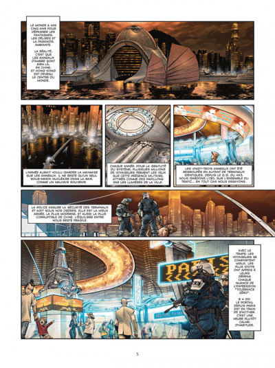 Page 3 spyder tome 1 - ombres chinoises