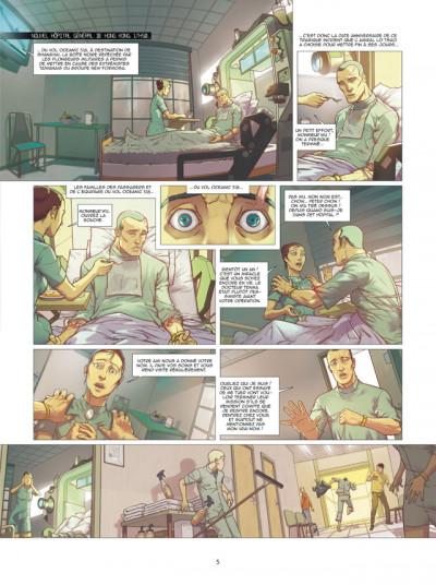 Page 3 Spyder tome 2 - dragon céleste