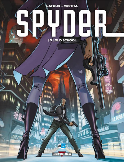 Couverture Spyder tome 3 - old school
