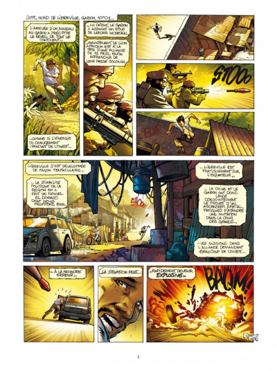 Page 1 Spyder tome 4 - chasse à l'homme