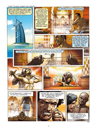 Page 2 Spyder tome 4 - chasse à l'homme