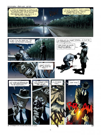 Page 3 Spyder tome 4 - chasse à l'homme