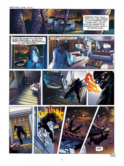 Page 4 Spyder tome 4 - chasse à l'homme