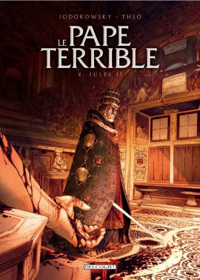 Couverture le pape terrible T.2 - Jules II