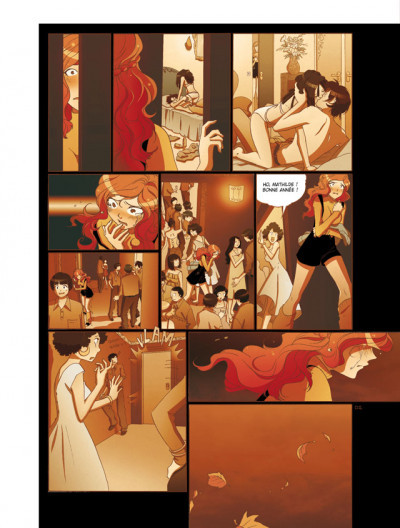 Page 2 mathilde tome 3 - le temps des fleurs
