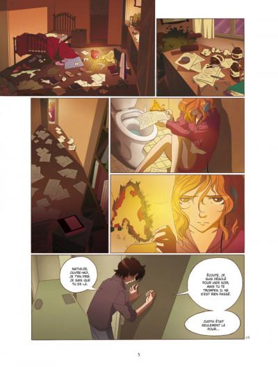 Page 3 mathilde tome 3 - le temps des fleurs