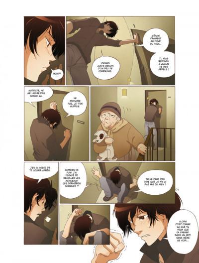 Page 4 mathilde tome 3 - le temps des fleurs