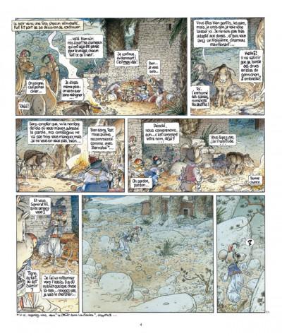 Page 4 le vent dans les sables T.4 - le chant des dunes