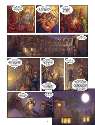 Page 3 La rose écarlate tome 6