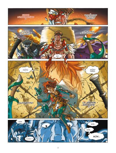 Page 1 Les légendaires tome 12