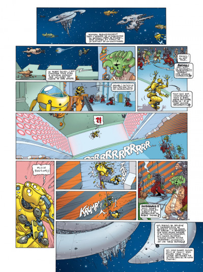 Page 1 sillage tome 13 - dérapage contrôlé