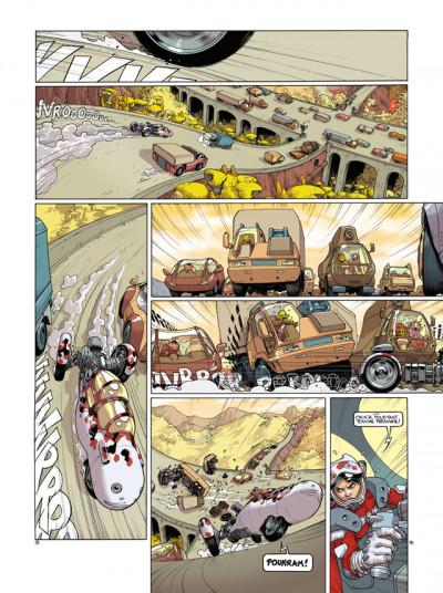 Page 2 sillage tome 13 - dérapage contrôlé