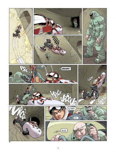 Page 4 sillage tome 13 - dérapage contrôlé