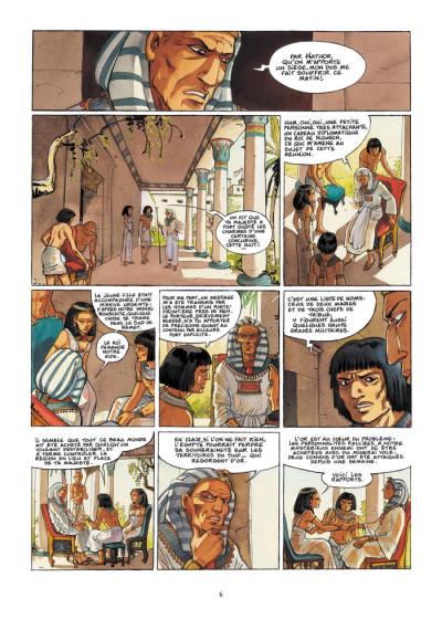 Page 4 sur les terres d'horus tome 8 - imeni ou la resur
