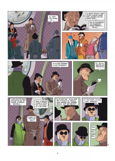 Page 4 Horologiom T.6 - le ministère de la peur