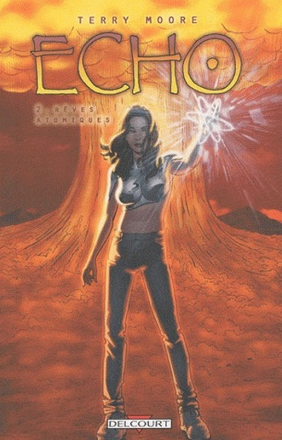Couverture echo tome 2 - rêves atomiques
