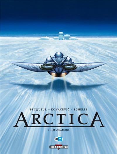 Couverture Arctica T.4 - révélations